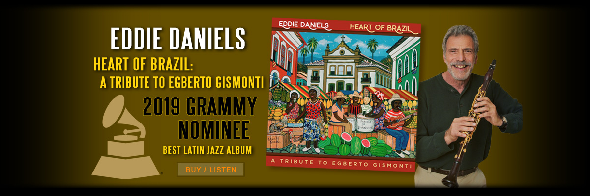Eddie Daniels GRAMMY nominated