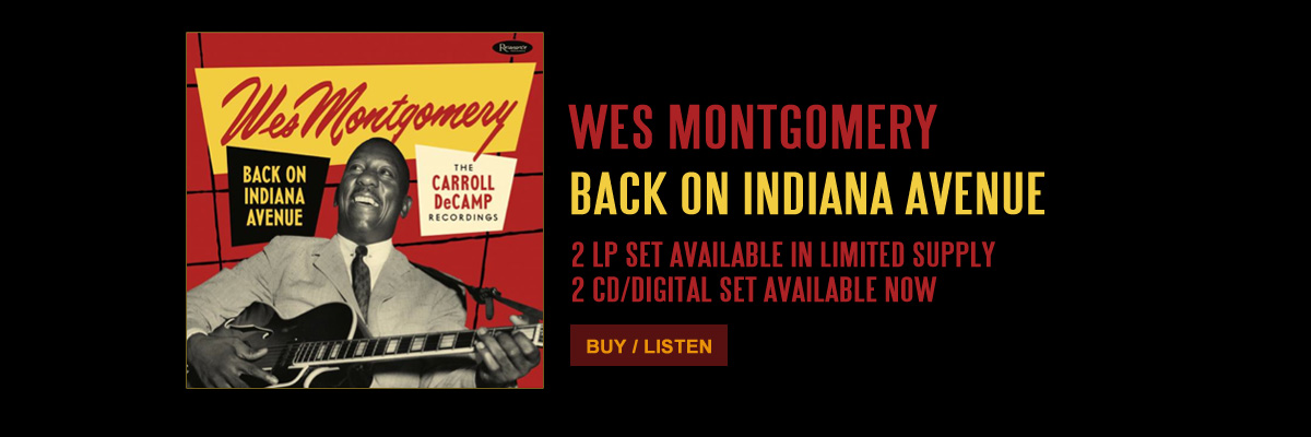 ResonanceRecords_Wes Montgomery - Back_On_Indiana_Avenue