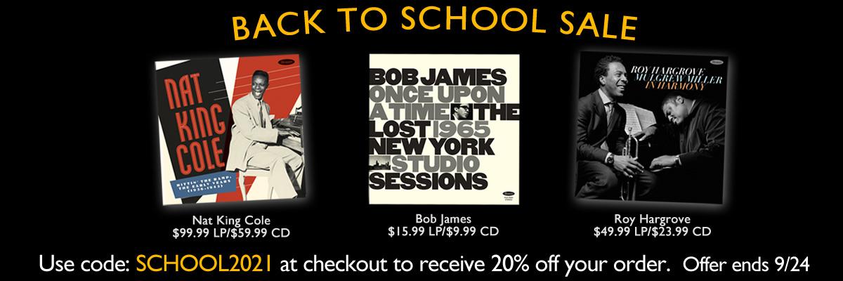 Resonance Records - Back To School Sale